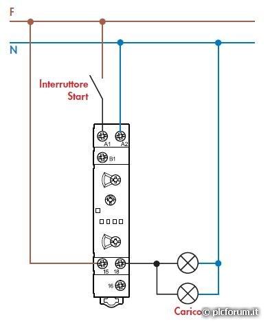 Sostituzione timer molveno 2 fili modello 5147 altro su for Collegare fili elettrici