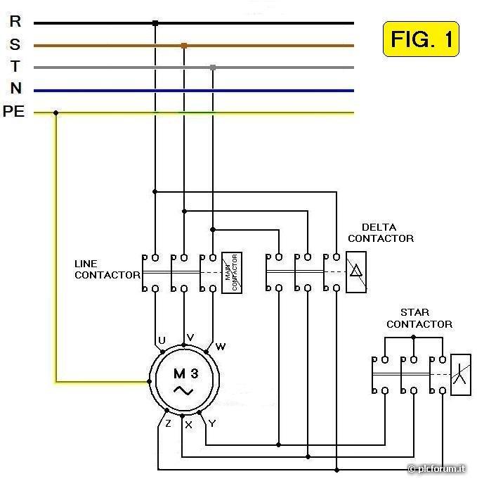 Soft starter autocostruito da mirko ceronti apparati for Teleruttore schema