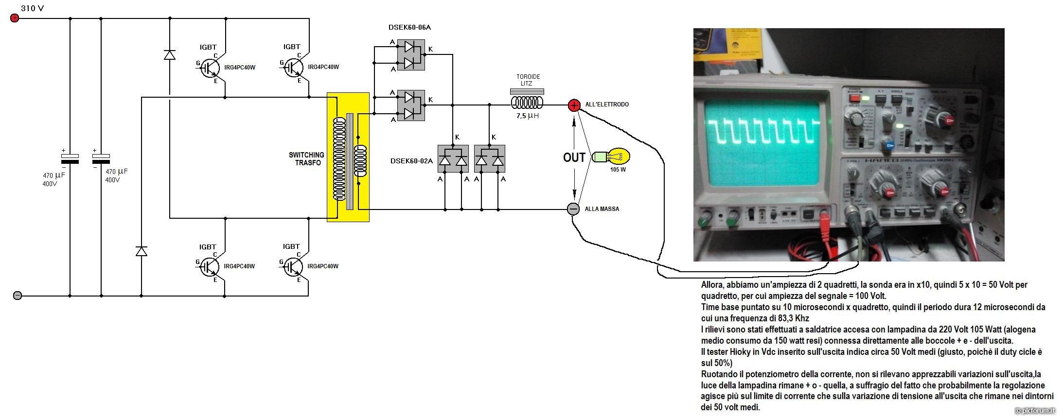 Schema Elettrico Saldatrice Inverter Deca : Saldatrice cemont s g elettronica generica plc forum