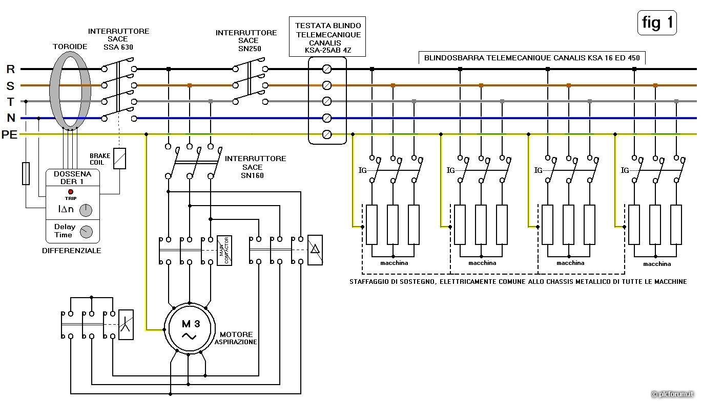 Schema Elettrico Per Avviamento Stella Triangolo : Scatto del differenziale nel mentre di una commutazione da
