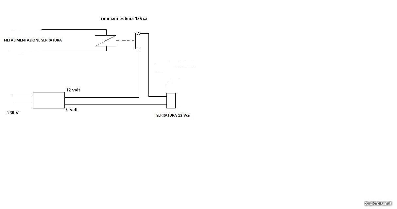 Schema Elettrico Per Apricancello : Come faccio a far aprire una serratura elettrica