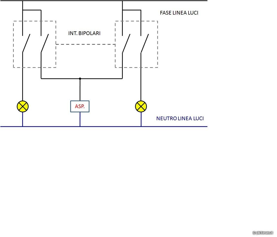 Schema Collegamento Aspiratore Vortice : Aspiratore bagno altri argomenti elettrici plc forum